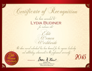 Budiner, Lydia 1818683