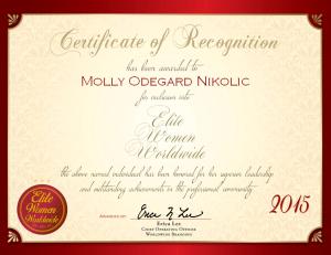 Odegard Nikolic, Molly 1517026