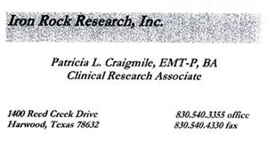 Craigmile, Patricia 1691093_b.card
