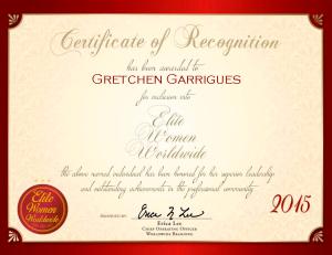 Garrigues, Gretchen 800138