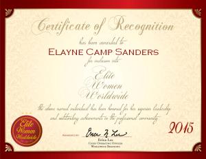 Sanders, Elayne 1376385