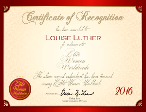 Luther, Louise 850730