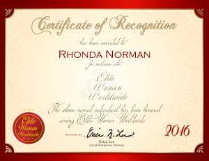 Norman, Rhonda 1763021