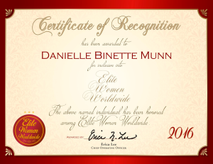 Binette Munn, Danielle 1579609
