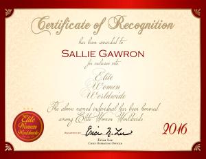 Gawron, Sallie 2092707