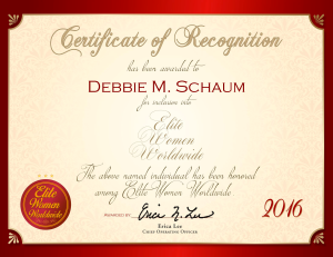 Schaum, Debbie 1598703