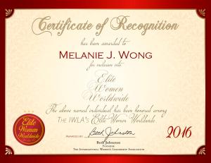 Wong, Melanie 1973507