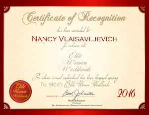 Vlaisavljevich, Nancy 1984561