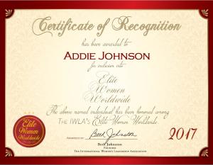 Johnson, Addie 2106586